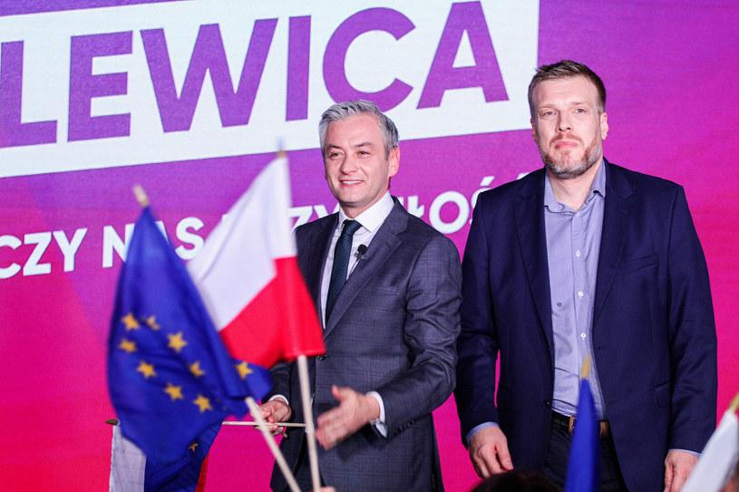 Robert Biedroń i Adrian Zandberg /Artur Szczepanski/REPORTER /Reporter