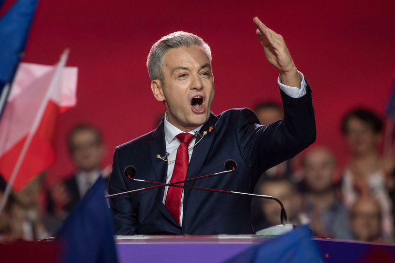 Robert Biedroń na konwencji założycielskiej partii Wiosna /Jacek Dominski/ /Reporter