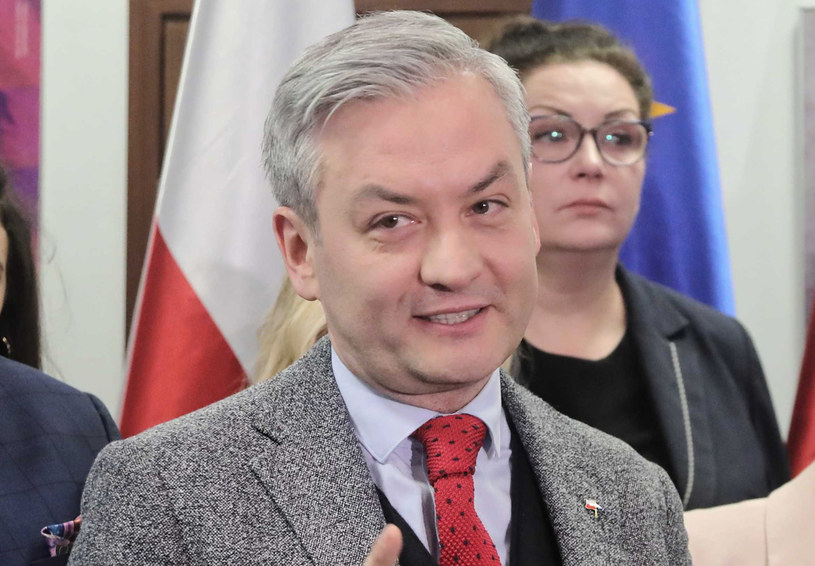 Robert Biedroń: Polska nie jest dzisiaj sojusznikiem USA, bo jest równie nieobliczalna /Wojciech Olkuśnik /PAP