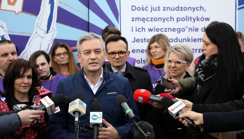 Robert Biedroń zainaugurował kampanię do PE /Piotr Molecki /East News
