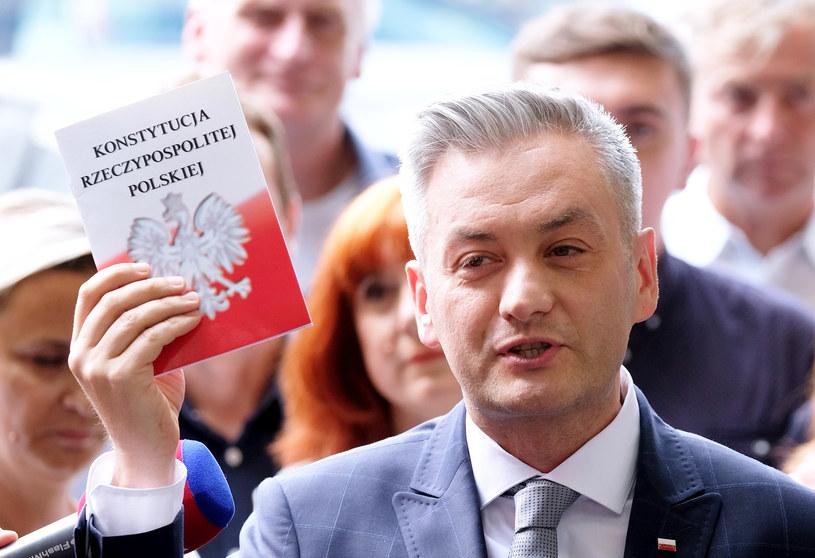 Robert Biedroń /Mateusz Grochocki /East News