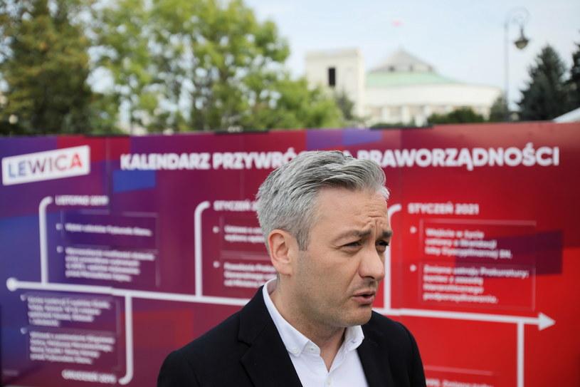 Robert Biedroń /Leszek Szymański /PAP