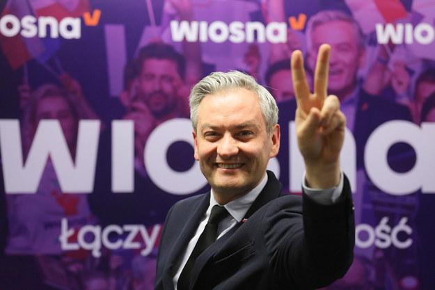 Robert Biedroń /Paweł Supernak /PAP