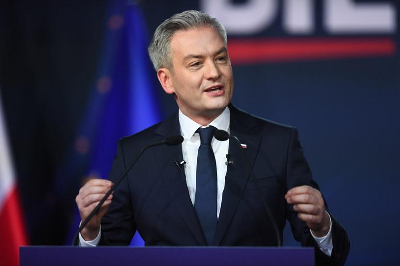 Robert Biedroń /Marcin Gadomski /PAP