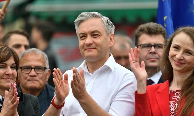 Robert Biedroń / Maciej Kulczyński    /PAP
