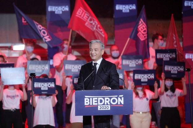 Robert Biedroń /Wojciech Olkuśnik /PAP
