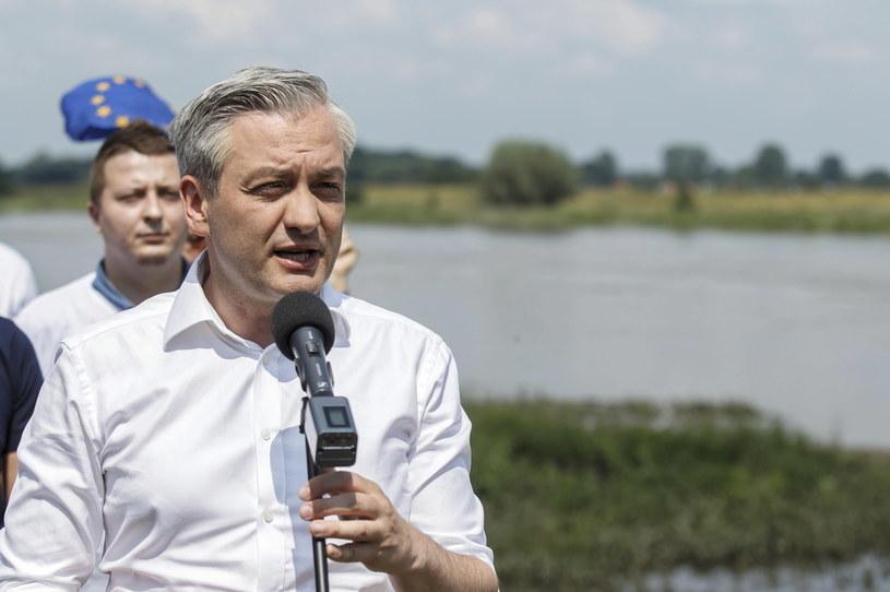 Robert Biedroń /Aleksander Koźmiński /PAP