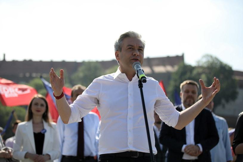 Robert Biedroń //Łukasz Gągulski /PAP