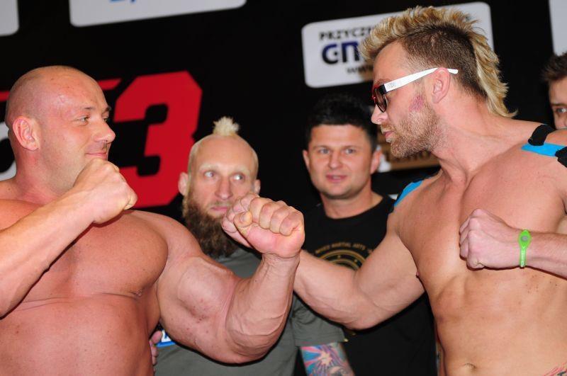 Robert Burneika i Dawid Ozdoba, Fot. MMA Attack /Internet