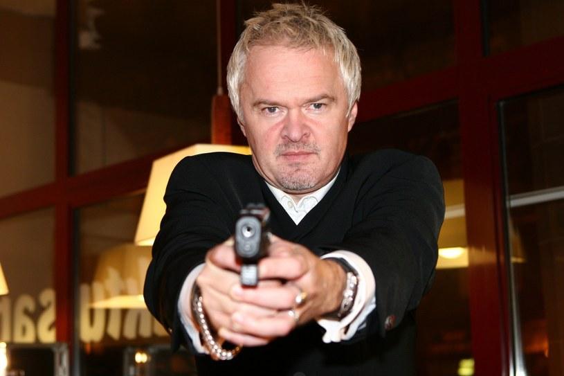 Robert Chojnacki w 2006 roku na planie teledysku /Wojciech Olszanka /East News