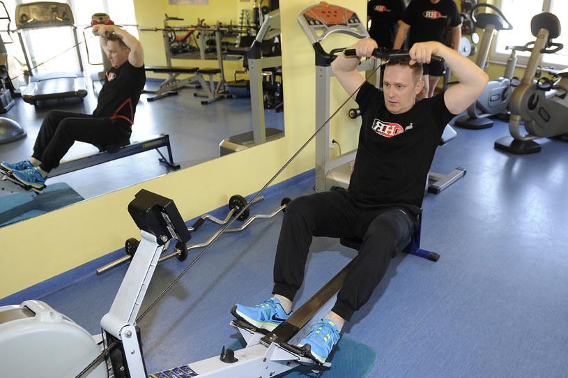 Robert dba o tężyznę fizyczną! /- /AKPA
