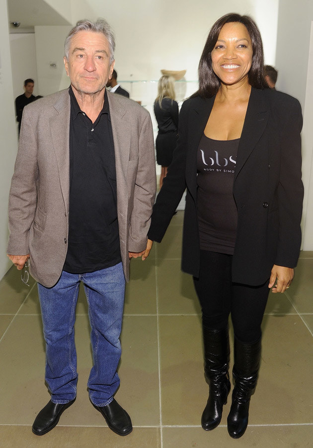 Robert De Niro, Grace Hightower  /Getty Images
