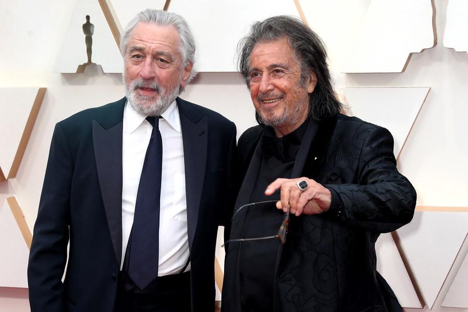 Robert De Niro i Al Pacino /DAVID SWANSON /PAP/EPA