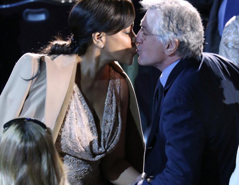 Robert de Niro z żoną Grace /McBride/face to face /East News