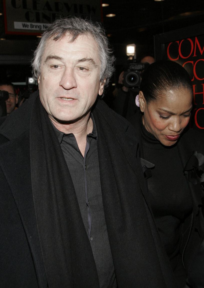 Robert de Niro z żoną /Fernando Leon  /Getty Images