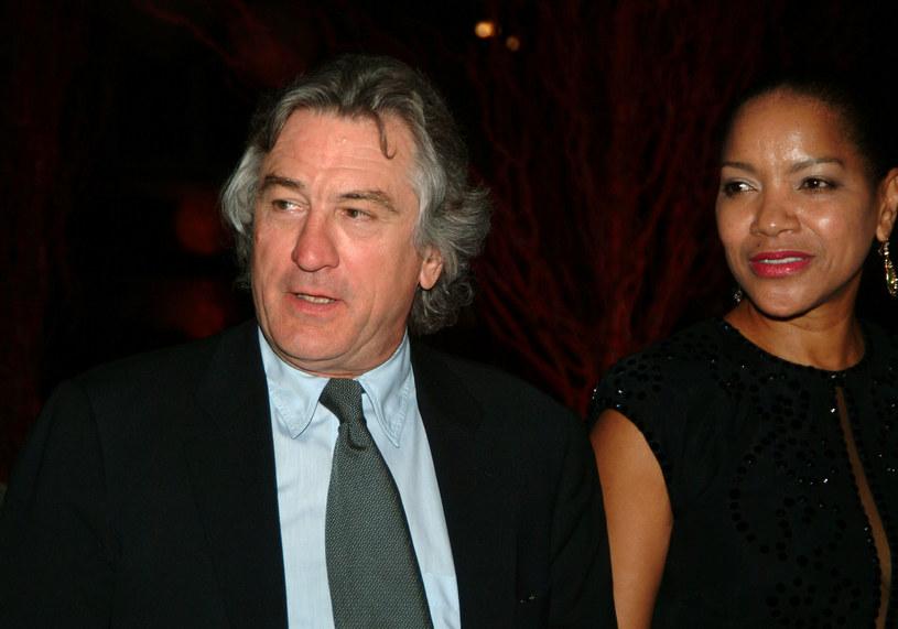Robert de Niro z żoną /Desiree Navaro /Getty Images