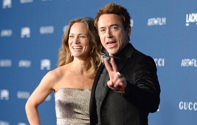 Robert Downey i Susan Downey /Jason Meritt /Getty Images