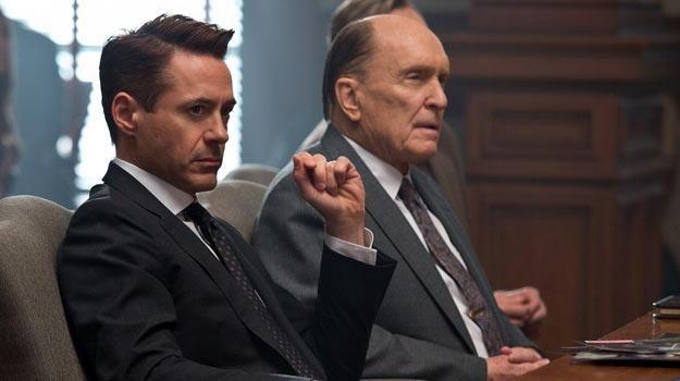 """Robert Downey Jr i Robert Duvall w filmie """"Sędzia"""" /materiały dystrybutora"""