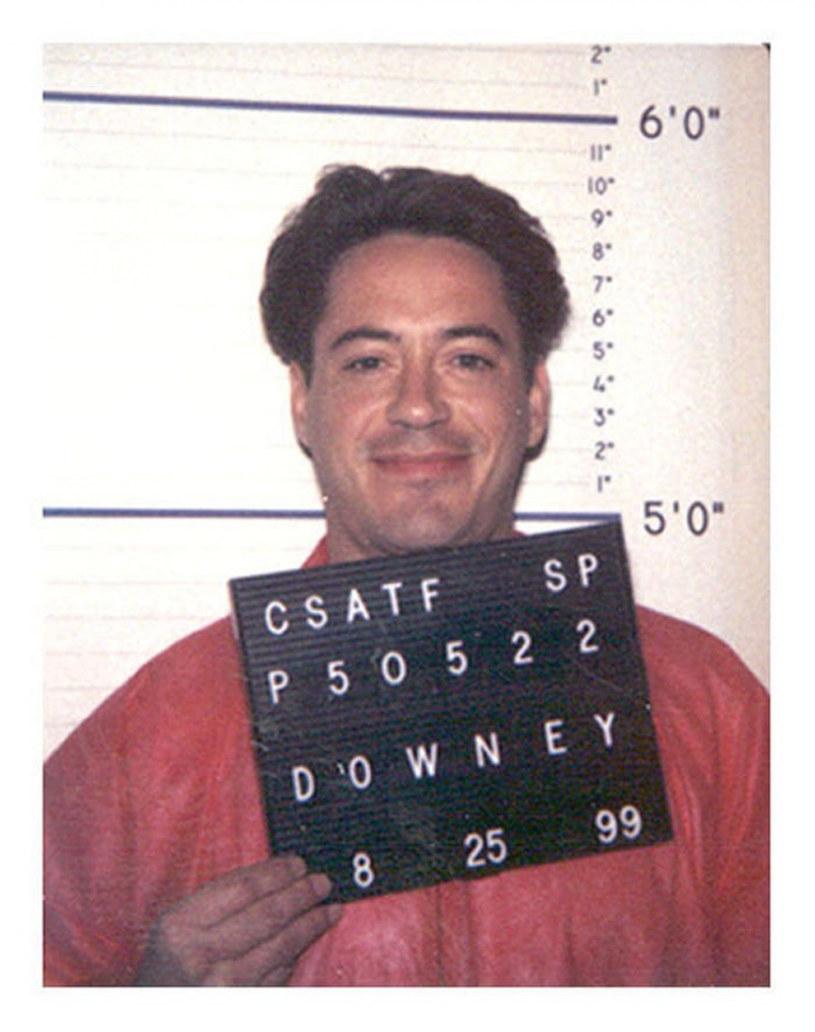 Robert Downey Jr. nie uniknął w życiu kłopotów z prawem /Eyevine /East News