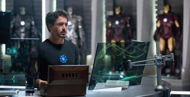 """Robert Downey Jr. w filmie """"Iron Man 2"""" /materiały dystrybutora"""