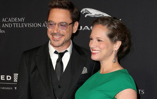 Robert Downey Jr został po raz trzeci ojcem! /Frederick M. Brown /Getty Images
