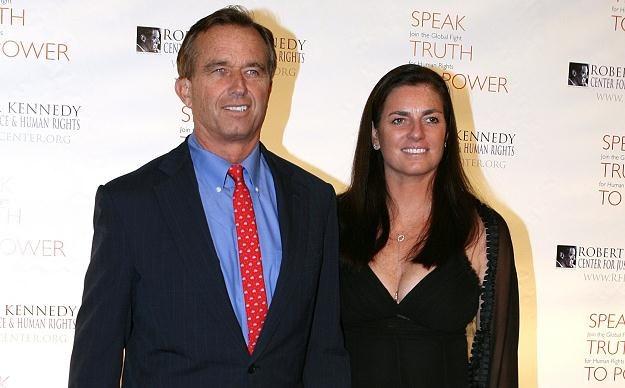 Robert F. Kennedy i jego żona Mary Richardson Kennedy /AFP