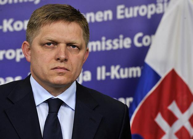 Robert Fico, premier Słowacji /AFP