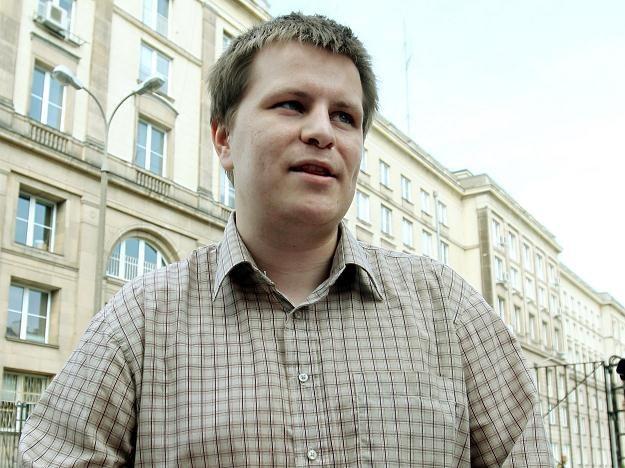 Robert Frycz, twórcy strony www.AntyKomor.pl / fot. R. Pietruszka /PAP