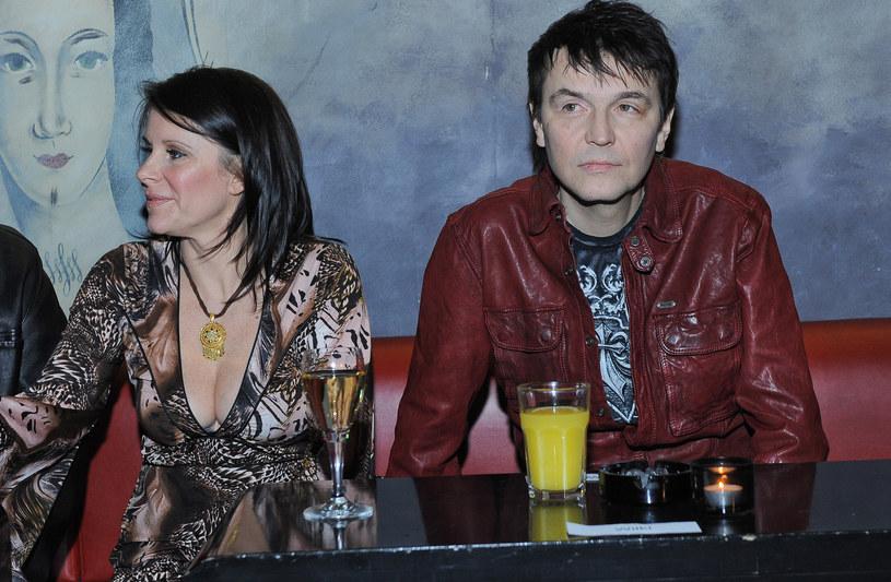 Robert Gawliński z żoną /Paweł Przybyszewski /MWMedia