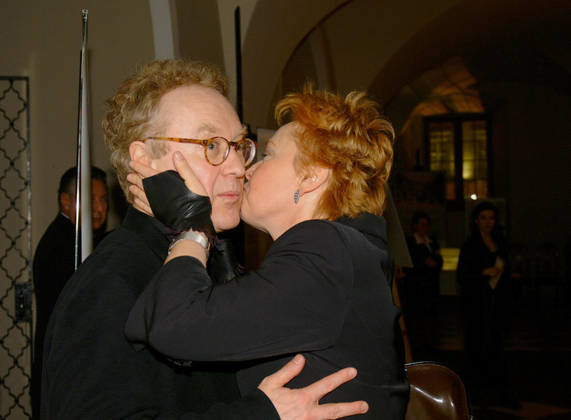Robert Gliński i Joanna Żółkowska /Niemiec /AKPA