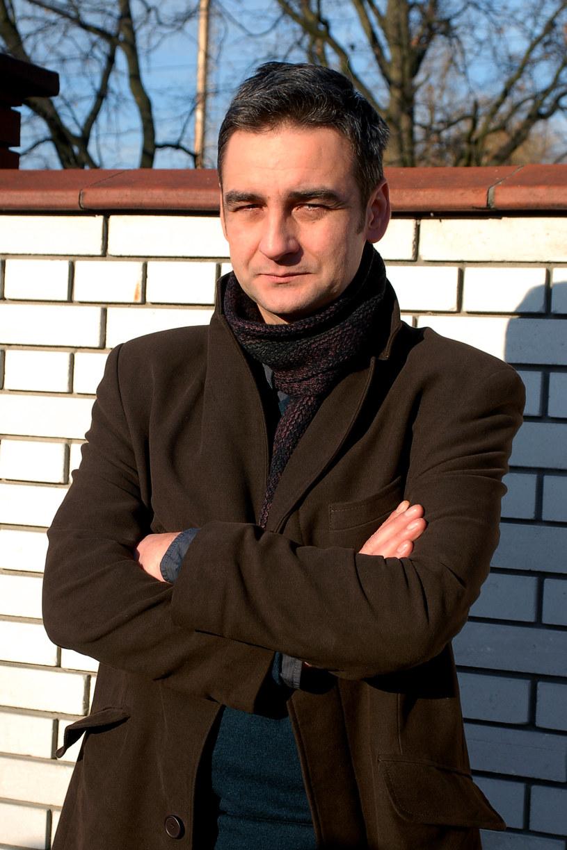 "Robert Gonera na planie ""Determinatora"" /MWMedia"