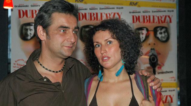 Robert Gonera z żoną, fot. Marek Ulatowski  /MWMedia