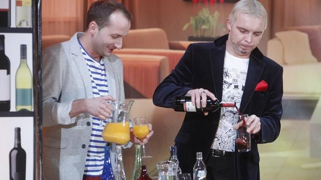 Robert Górski i Marcin Wójcik dobrze wiedzą, co robić na urlopie... / fot. Engelbrecht /AKPA