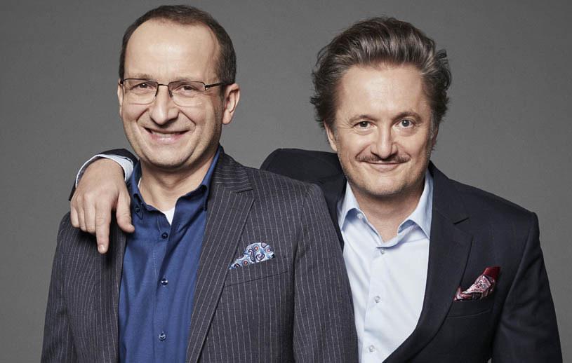 Robert Górski i Mikołaj Cieślak /Krzysztof Opaliński /Polsat