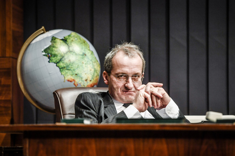 "Robert Górski jako Prezes w ""Uchu Prezesa"" /AKPA"