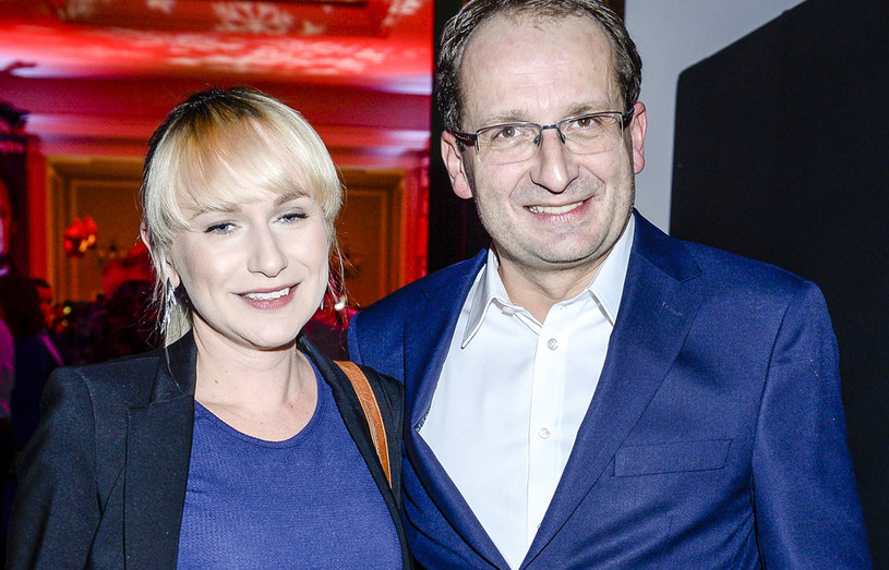 Robert Górski z Moniką /Piętka Mieszko /AKPA