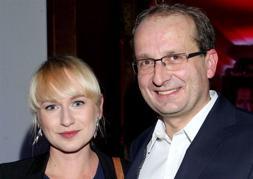 Robert Górski z przyszłą żoną /Agencja W. Impact