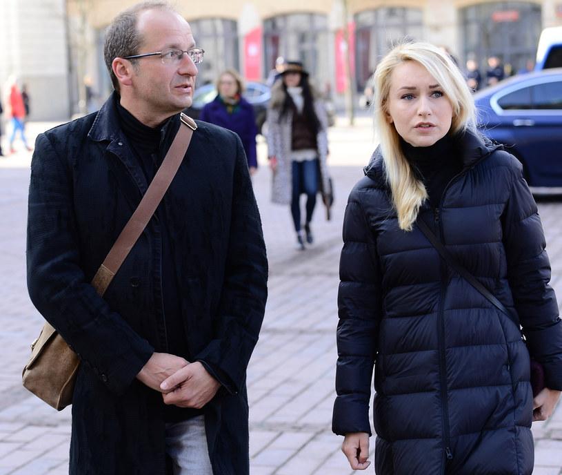 Robert Górski z żoną Moniką /Radosław Nawrocki /Agencja FORUM