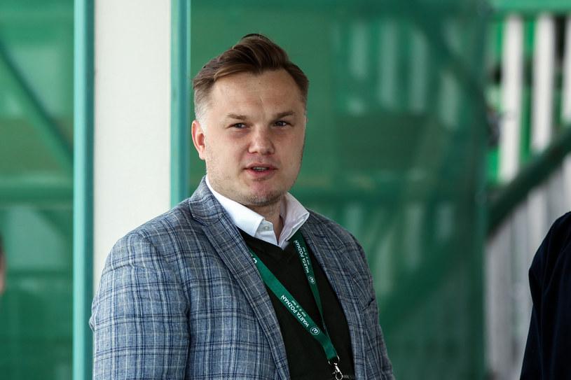 Robert Graf, dyrektor sportowy Warty Poznań /JAKUB PIASECKI / CYFRASPORT / NEWSPIX.PL /Newspix