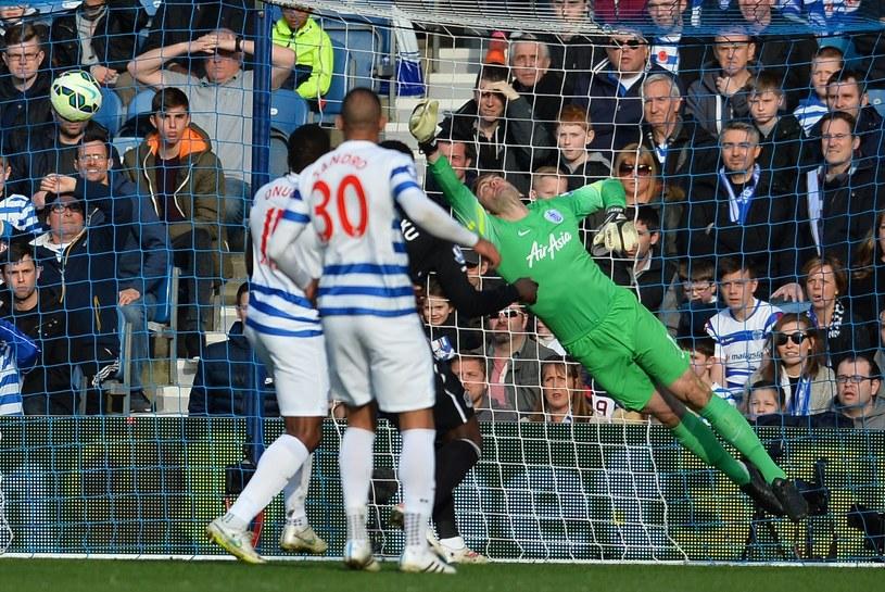 Robert Green interweniuje w meczu Premier League /AFP