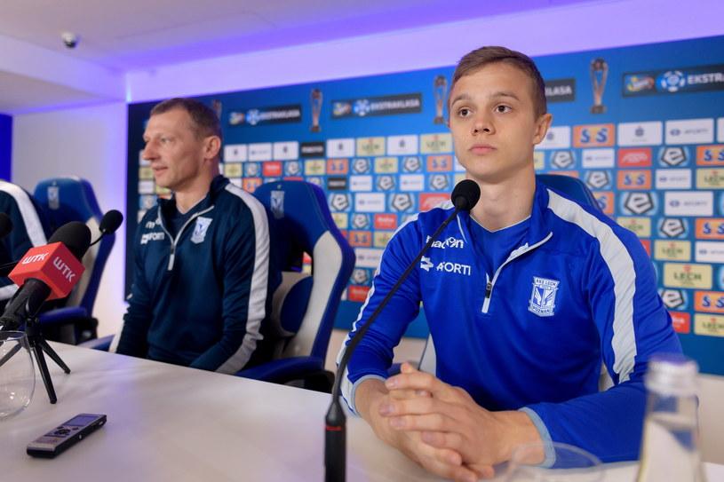 Robert Gumny (z prawej) /Jakub Kaczmarczyk /PAP