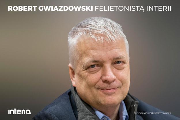 Robert Gwiazdowski felietonistą Interii /Interia.pl /INTERIA.PL