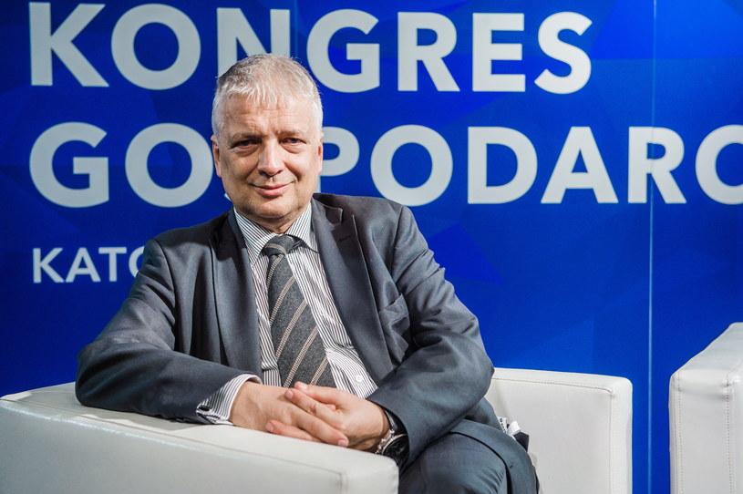 Robert Gwiazdowski kandydatem PSL i Konfederacji na RPO? /Daniel Dmitriew /Agencja FORUM