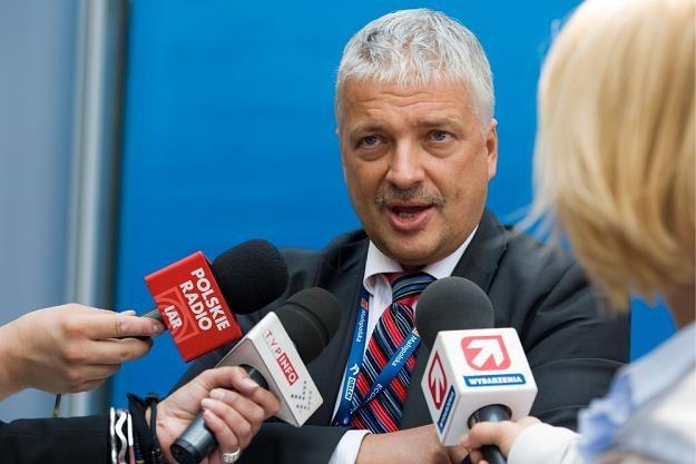 Robert Gwiazdowski, prezydent Centrum im. Adama Smitha; fot. Tadeusz Koniarz /Reporter