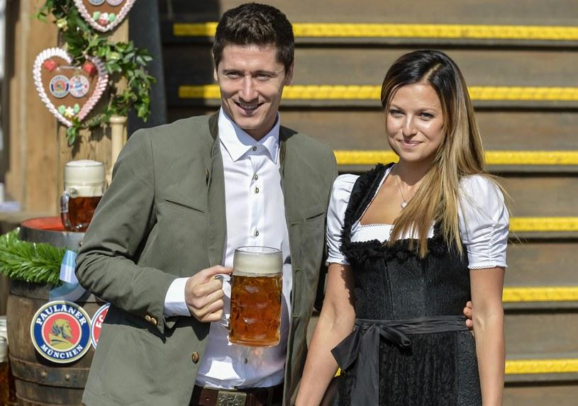 Robert i Anna Lewandowscy /AFP