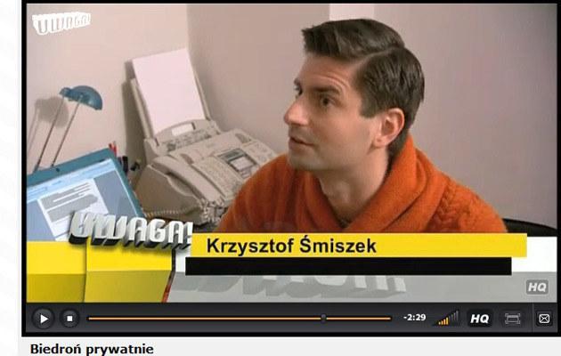 """Robert i Krzysztof opowiedzieli o swoim związku w programie TVN """"Uwaga""""  /TVN"""