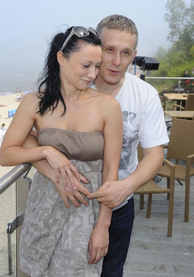 Robert i Patrycja wciąż są w sobie szaleńczo zakochani /Jarosław Antoniak /MWMedia