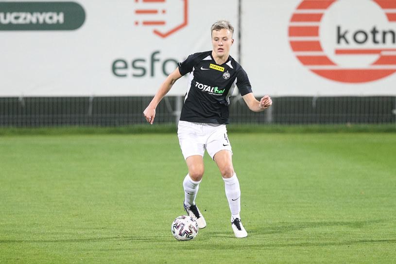 Robert Ivanov - reprezentant Finlandii z Warty Poznań, który ma szansę pojechać na Euro 2021 /Grzegorz Jedrzejewski / 058sport.pl / NEWSPIX.PL /Newspix