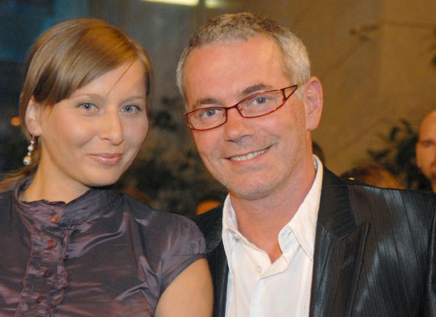 Robert Janowski z żoną  /fot. M. Ulatowski /MWMedia