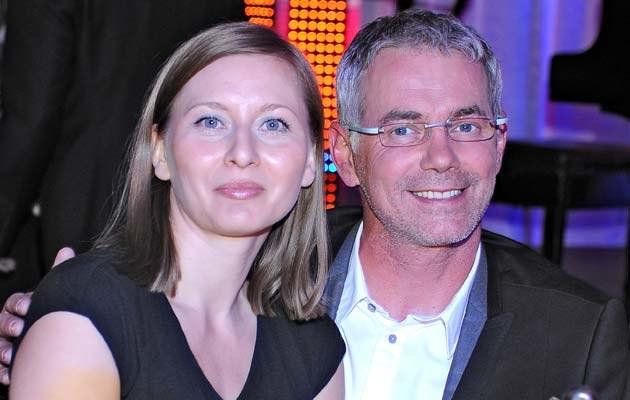 Robert Janowski z żoną, fot. Andras Szilagyi  /MWMedia
